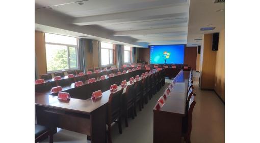威海中级人民法院LED会议屏应用